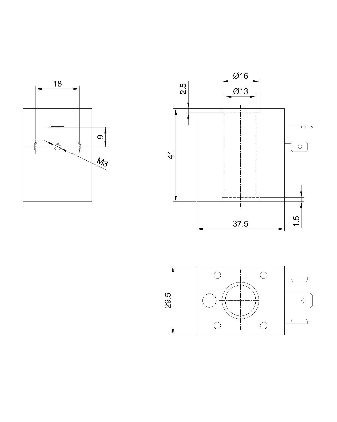 SB050/0200系列热固线圈