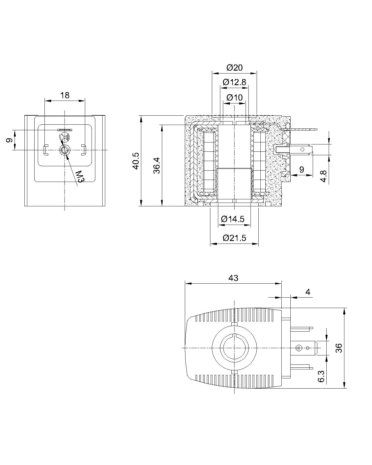 SB086/BD-A-03系列热固线圈