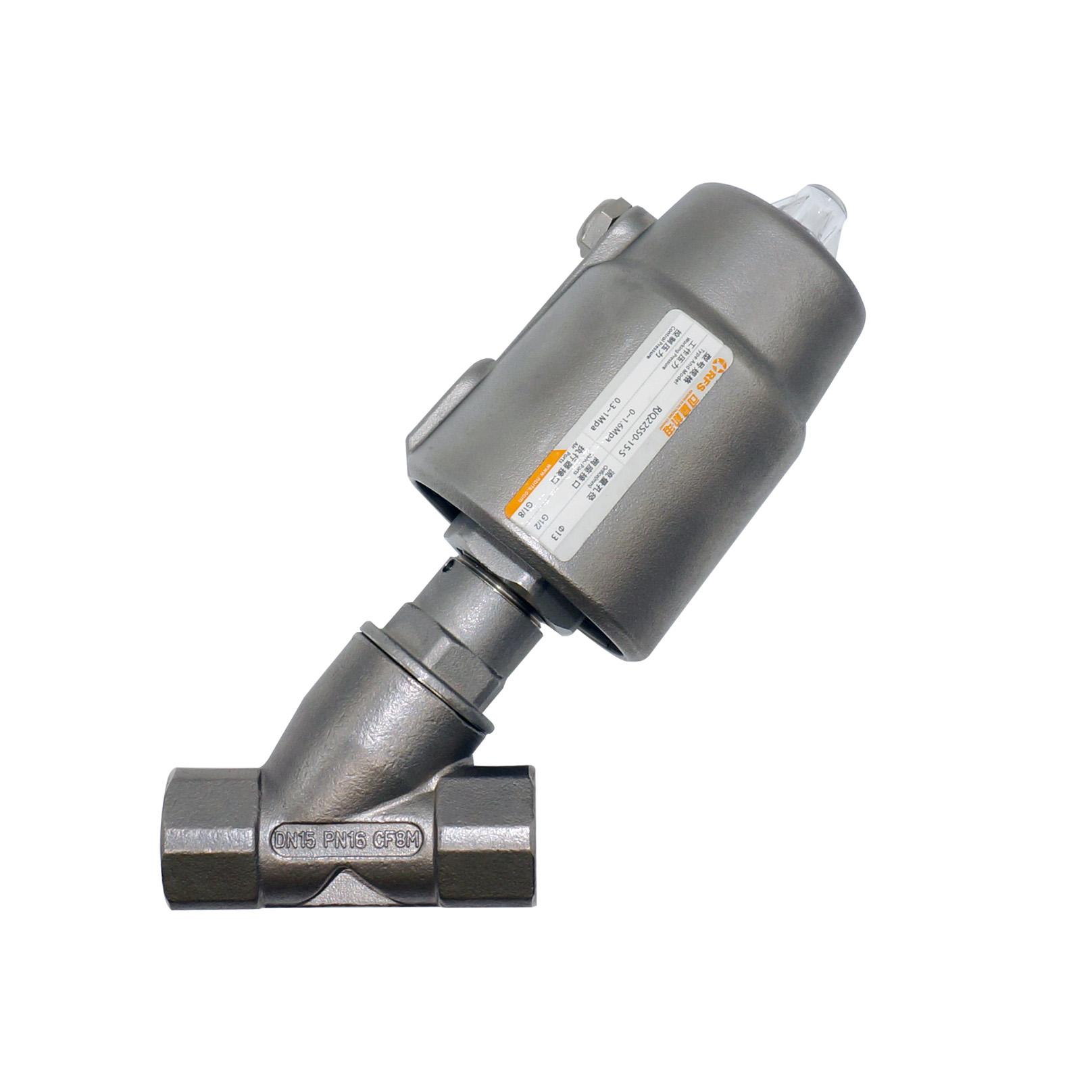 RJQ22-S不锈钢头执行器气控斜角阀